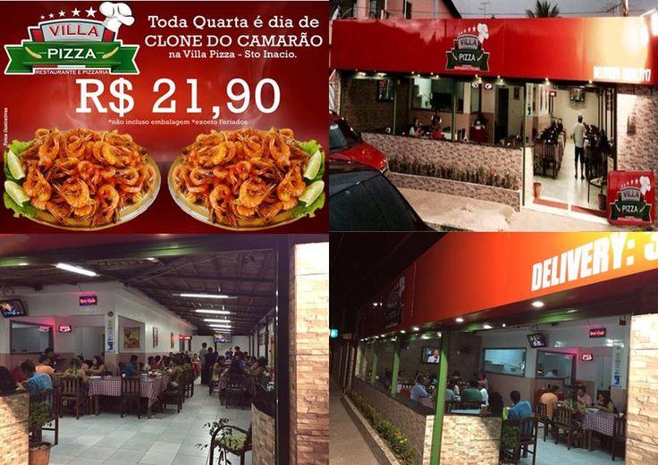 Mega estrutura esperando você com o melhor atendimento servindo os melhores pratos da região. Venha conferir nossas PROMOÇÕES VILLA PIZZA!
