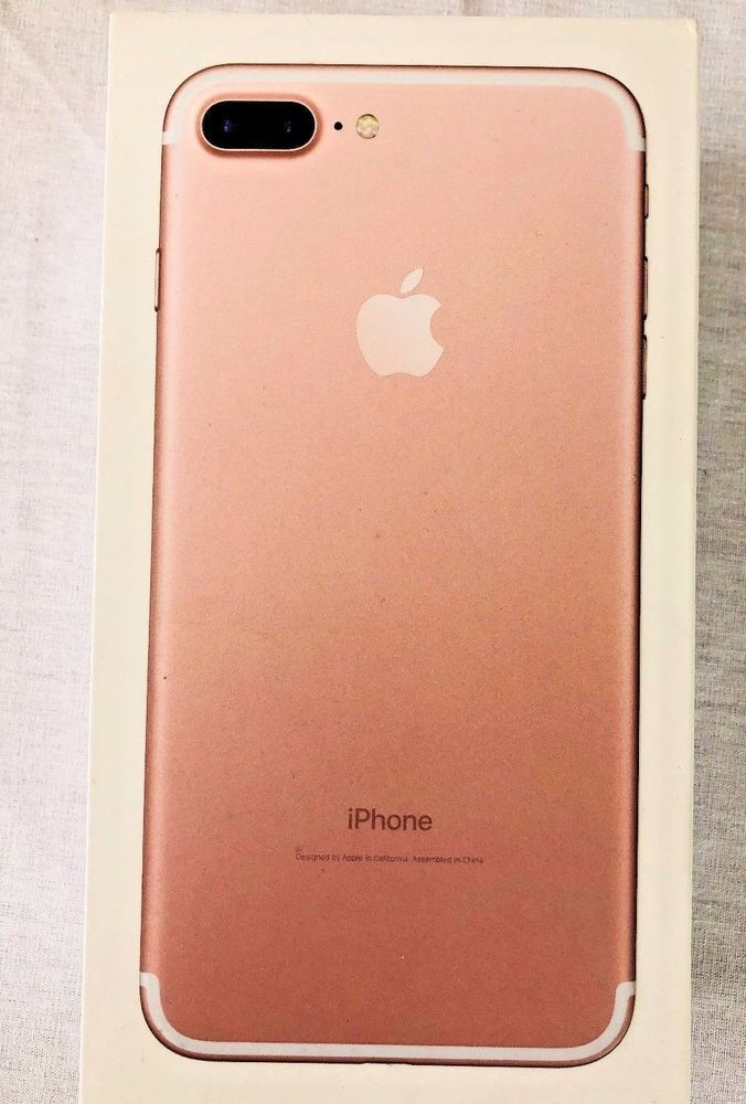Apple Iphone 7 Plus Rose Gold 128gb Empty Box W Wall Charger Lighting Cord Box Ebay 2 25 18 Sold Iphone Iphone 7 Plus Cord Box