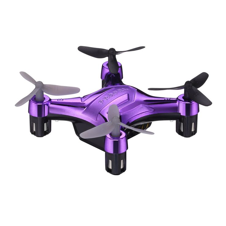 Propel Flek Micro Drone Indoor / Outdoor Wireless Quadcopter, Purple