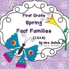 Welcome to Spring Fact Families.  This Lesson gives your first graders lots of practice with fact families.  It is aligned with the First Grade Com...