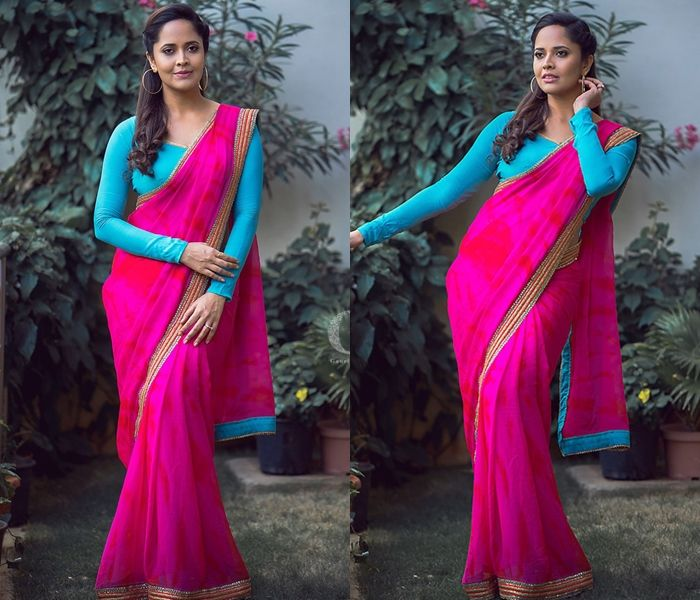 Looking for saree blouse designs to look slim ? Here are 10 designs/ideas that can you can incorporate on your blouse style for an lean saree look.