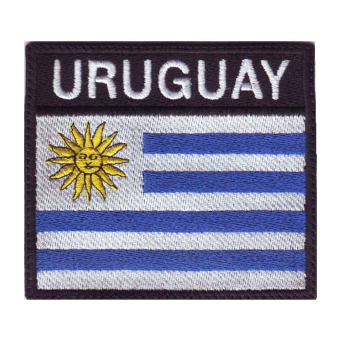 URUGUAY FLAG BADGE EMBROIDERED PATCH #ThePatchLab