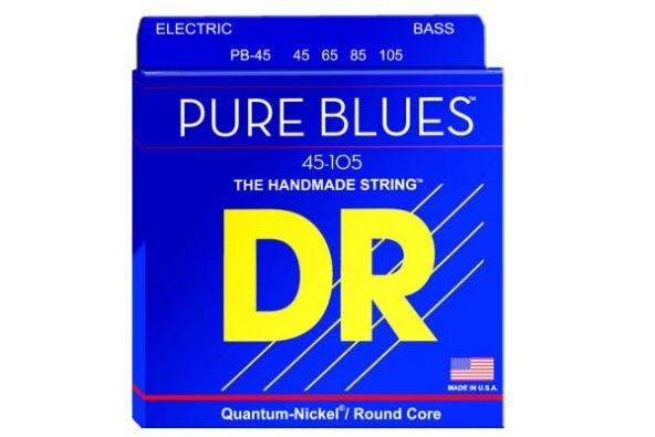 """""""Pure Blues"""": corde per basso in Quantum-Nickel"""