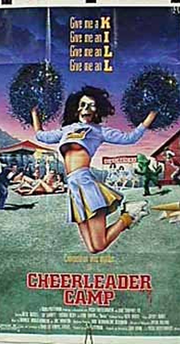 Directed by John Quinn.  With Betsy Russell, Leif Garrett, Lucinda Dickey, Lorie Griffin. A group of cheerleaders become the targets of an unknown killer at a remote summer camp.