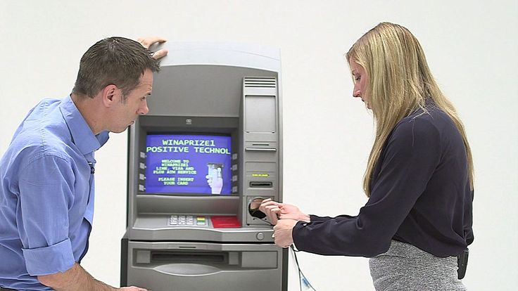 Cash machine hacked in five minutes https://tmbw.news/cash-machine-hacked-in-five-minutes  After cash machines were hacked in Thailand and Taiwan in 2016, Click asks if the same thing could happen again.Leigh-Anne Galloway, a security expert with Positive Technologies, says most cash machines are effectively a Windows XP computer attached to a safe.BBC Click's Spencer Kelly joins her with a cash machine to find out more.See more at Click's website and @BBCClick .