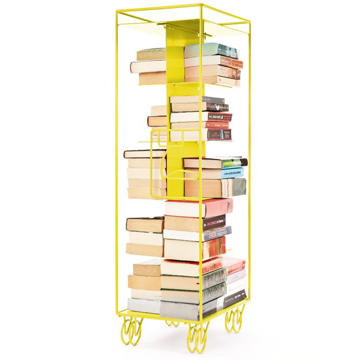 OUTLINE  Outline is a sleek product in steel, which takes up the contours of the iconic aircraft wagons and thereby open up new features to the library exposure or theme areas.  Create stacks of books and other media for the perfect installation!