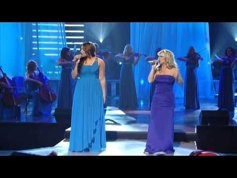 Human- Natalie Grant and Jordin Sparks  I mean seriously, this song preaches...whether you are a Jesus lover or not!  ;)