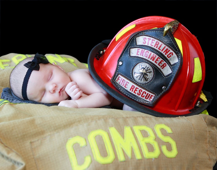 firefighter baby..