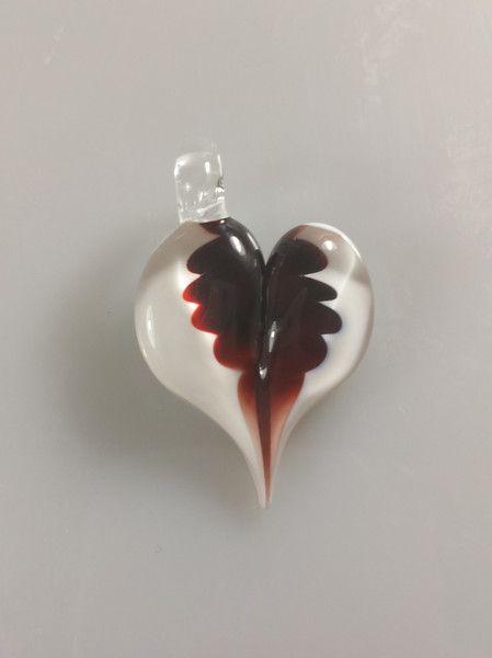Anhänger Herz -  Herzanhänger aus Muranoglas - ein Designerstück von uwe-hess bei DaWanda
