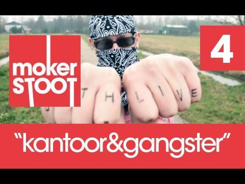 mokerSTOOT afl 4 kantoor & gangster