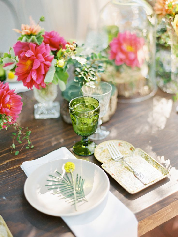 Photography: Ryan Ray - ryanrayphoto.com  Read More: http://www.stylemepretty.com/2015/04/06/whimsical-bright-summer-garden-wedding/