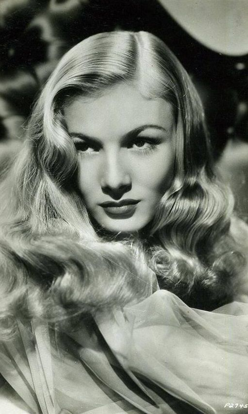 Veronica Lake | Veronica Lake | Pinterest | Lakes, Curls ...