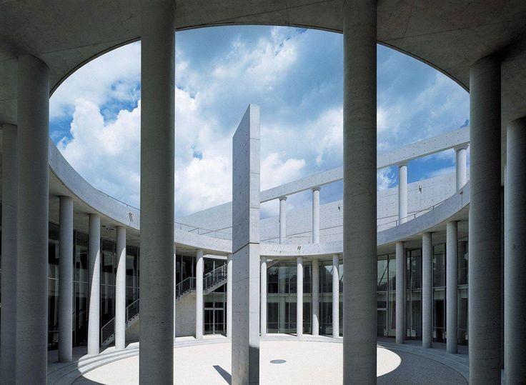 """Тадао Андо: архитектура, соседствующая с природой : Центр современного искусства """"Облака"""""""