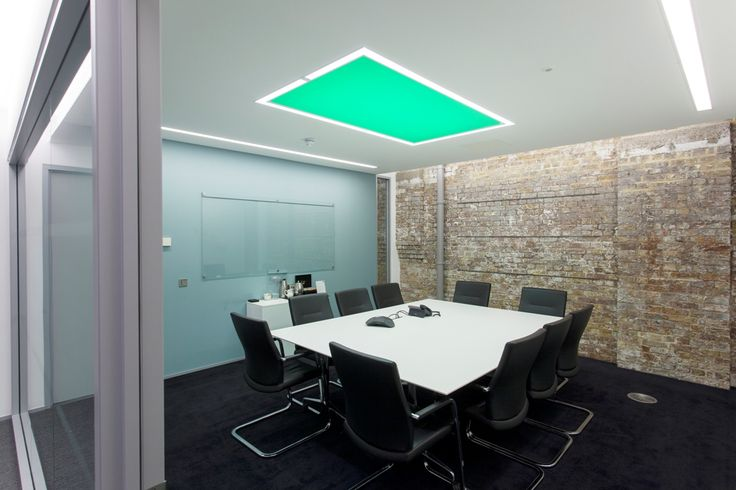 STRETCH CEILING by Optelma. Recessed and outlined with QUAD. #LightingDesign #Lighting #Retail #Office #Architecture #InteriorDesign #StretchCeiling #LED