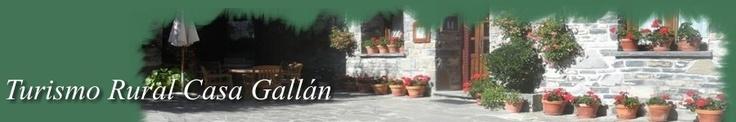 Casa gallan, Turismo Rural en Ordesa, en Sarvise,  los pirineos, Habitaciones y apartamentos.  Gran casa solariega típica pirenaica de piedra.   Disponemos de jardín con muebles, terraza solarium, aparcamiento, sala de estar, televisión, WIFI   En CASA GALLAN tenemos dos tipos de alojamientos de calidad y de trato familiar, por un lado nuestras habitaciones y por otro los apartamentos, ambos con una cuidada decoración para que su estancia entre nosotros sea inolvidable.