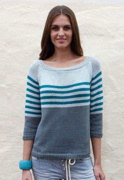 Damen-Pullover Shayla – Strickanleitungen bei Make…