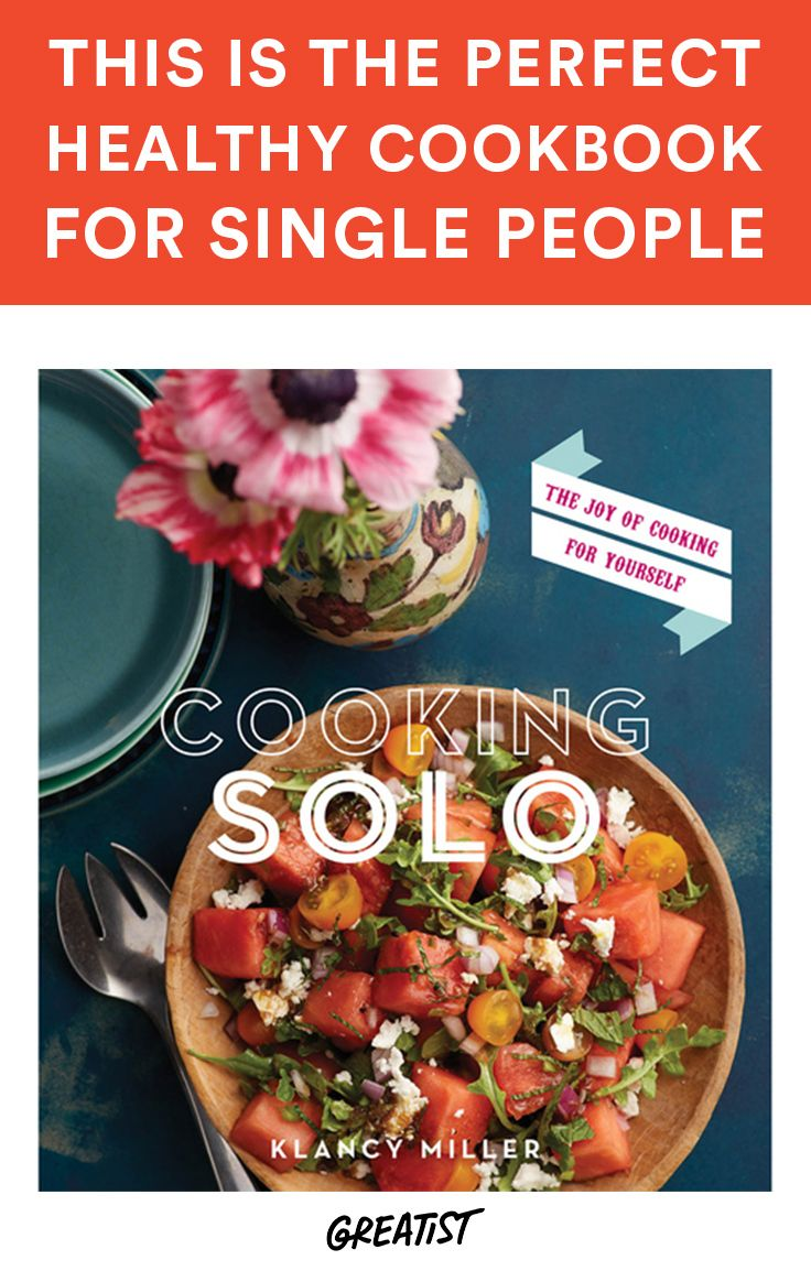 Perfectly portioned recipes mean you won't be eating leftovers all week. #healthy #recipes http://greatist.com/eat/cooking-for-one-the-perfect-healthy-cookbook-for-single-people