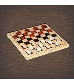 Шашки  — 623 руб.  —  Шашки — это классическая игра, которая придется по душе и взрослым, и детям. Игра в шашки развивает логическое мышление, а также мелкую моторику рук и базовые математические навыки. Шашки деревянные с доской 230*115*45мм