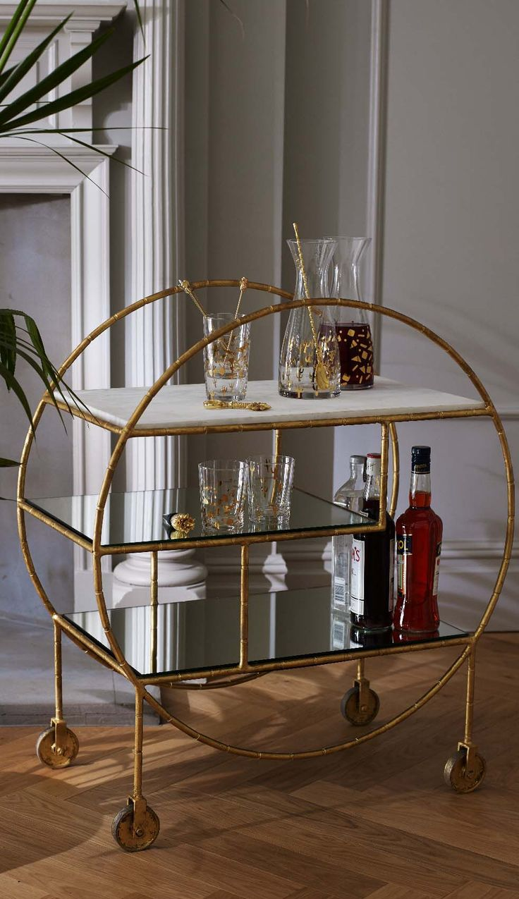 Top 25+ Best Drinks Trolley Ideas On Pinterest | Bar Trolley, Home Bar  Essentials And Bar Carts