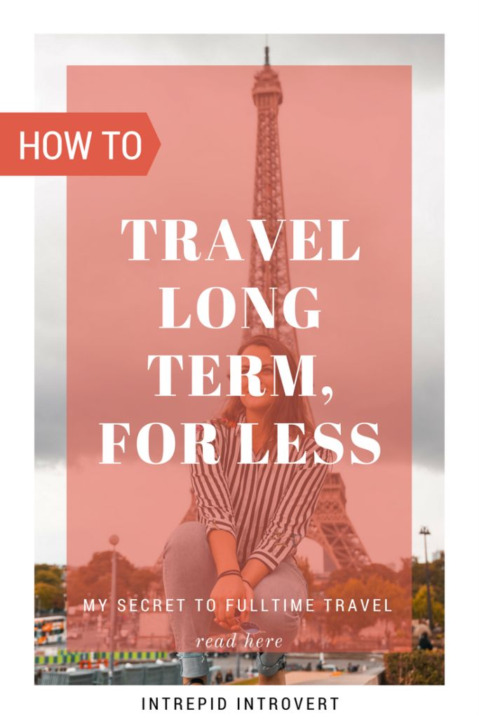 How to travel full-time is the number one question I am asked. Here is how I do it, and many others too! A lot of it is actually by minimising your expenses at home :)