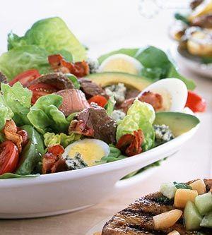 Loaded with beef sirloin steak, bacon, avocado, cheese, and more, this salad won't leave you hungry!
