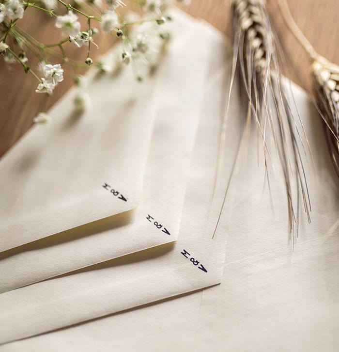 M & V Wedding Suite invitations by Volària