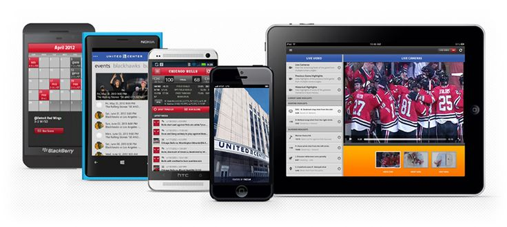 United Center Mobile #app