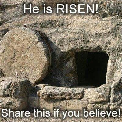 YES JESUS HAS RISEN!! THANK YOU GOD AND JESUS FOR LOVING US AND SAVING US WITH…