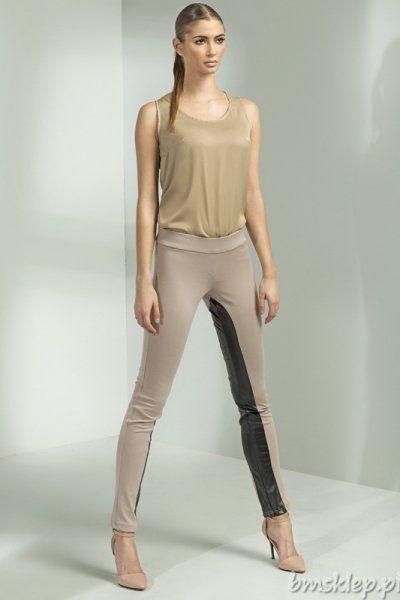Skład: 70% Poliester, 25% Rayon, 5% Spandex + eco #skora... #Spodnie - http://bmsklep.pl/spodnie