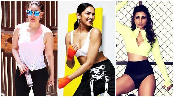 Kareena Kapoor, Deepika Padukone, Parineeti Chopra: Take workout outfit inspiration from these Bollywood celebrities - The… #FansnStars