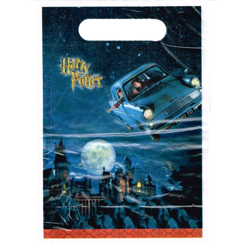 Hard To Find Party Supplies - Harry Potter 'Chamber of Secrets' Favor Bags (8ct)