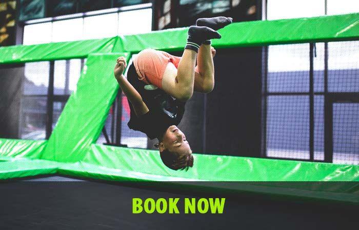 Flip Out Indoor Trampoline Arenas | Indoor Trampoline Arenas