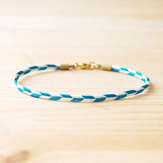 chevron bracelet by son of a sailorDecor Ideas, Jewelry Necklaces, Diy Fashion, Jewelry Bracelets, Diy Gift, Blue Chevron, Chevron Bracelets, Layered Bracelets, Jewelry Rings