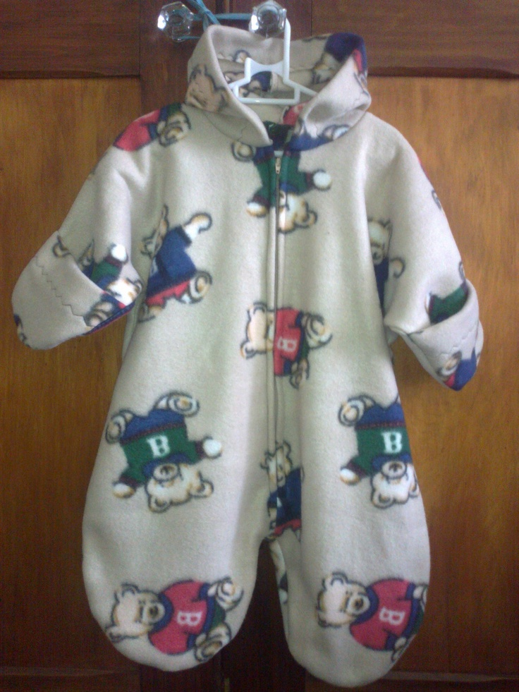 Boy's Fleece Bunting (sleeping bag)(for newborn - approx. 3 months) - R150.00