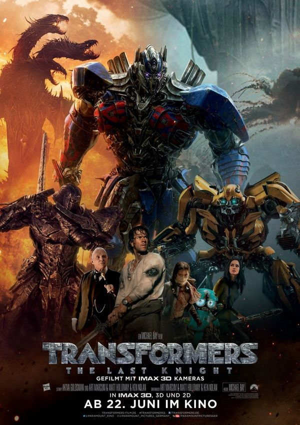 Transformers The Last Knight New Germany Poster, More HD Images