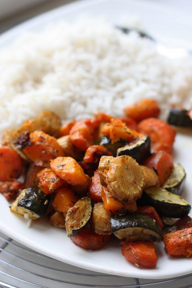 Les petits plats de Rose: Légumes d'hiver rôtis au four