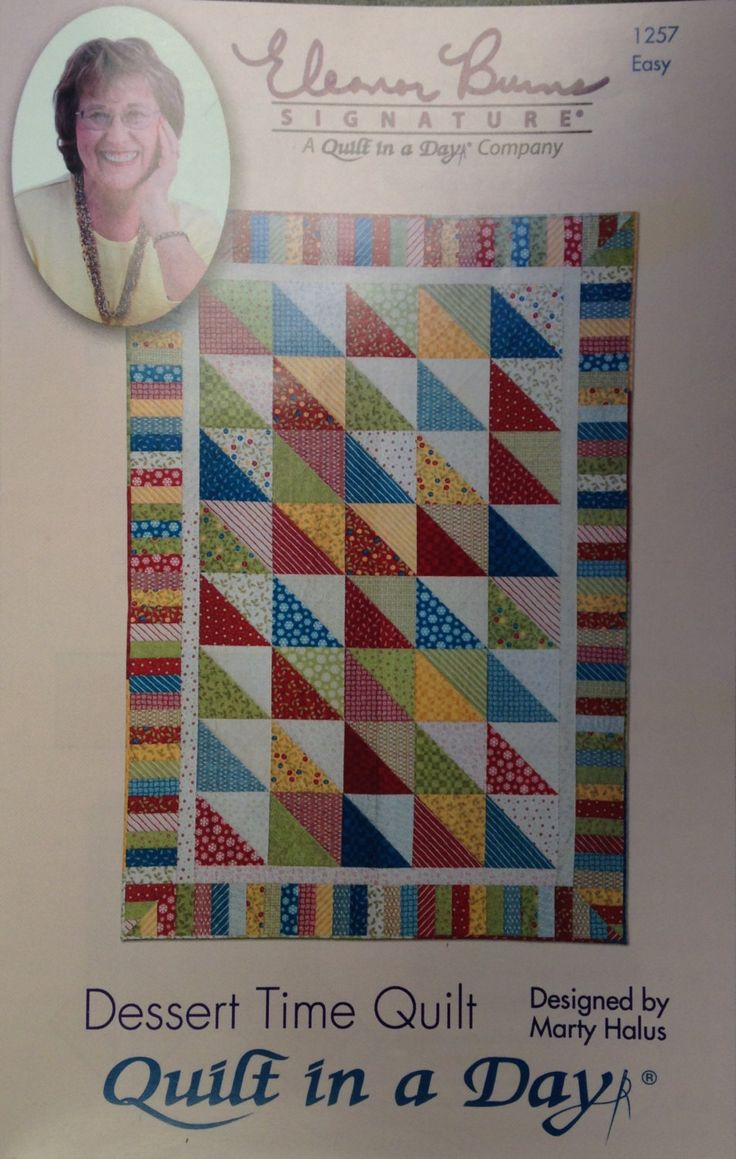 1000+ images about My Passion - Quilts / Eleanor Burns Quilt in a Day on Pinterest Day book ...