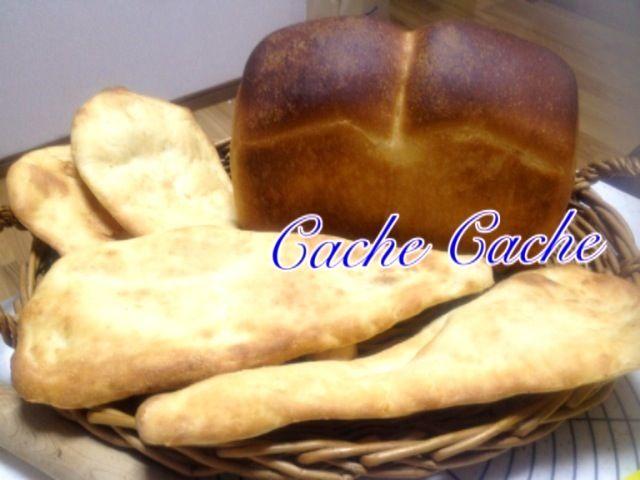明日の朝ご飯にイギリス食パン。 息子の昼ご飯用にカレー用意したから、ナンも焼きました。 - 11件のもぐもぐ - 5/19焼きたてイギリス食パンとナン by yoshimi