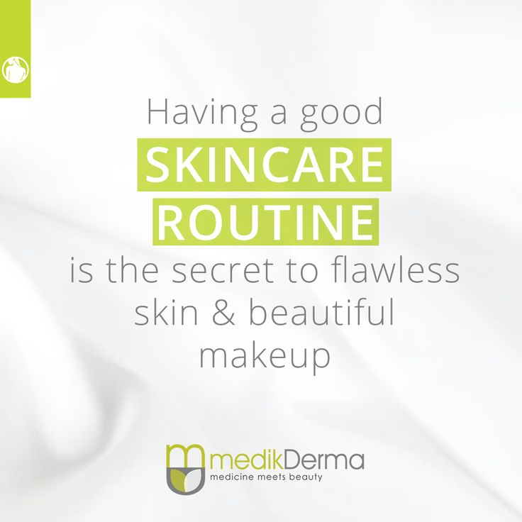 Having a good skincare routine is the secret to flawless skin & beautiful makeup.