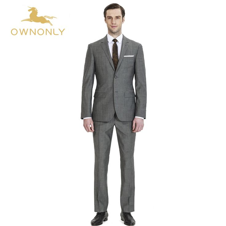 OWNONLY 2017 Latest Design Brand Custom Suit Business Formal Fashion Party Men Suit (Jacket+Pants+Vest)