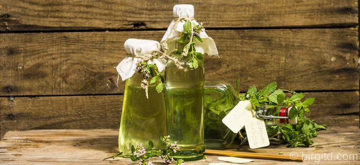 Selbstgemachter Zitronenmelisse-Sirup - erfrischend, aromatisch & gesund ♥ | Birgit DBirgit D