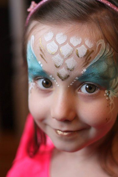 Nadine's Dreams Photo Gallery | Mermaid Face Paint