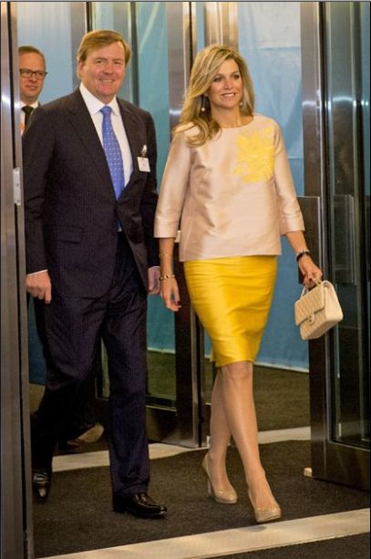 ing Willem Alexander and Queen Maxima attended the 70th session of the UN General Assembly at the UN headquarters September 28, 2015 in New York City.