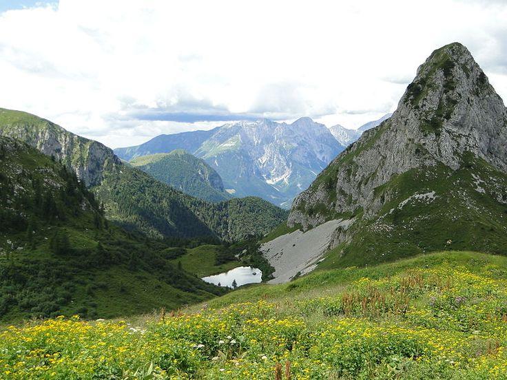 le montagne attorno a Bergamo