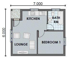 One Bedroom Apartments Floor Plans