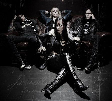 Interview : Liv Jagrell - Sister Sin (2008) - Femme Metal Webzine