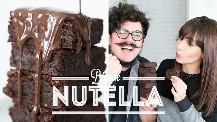 BROWNIE DE NUTELLA | BIGODE NA COZINHA | DANI NOCE