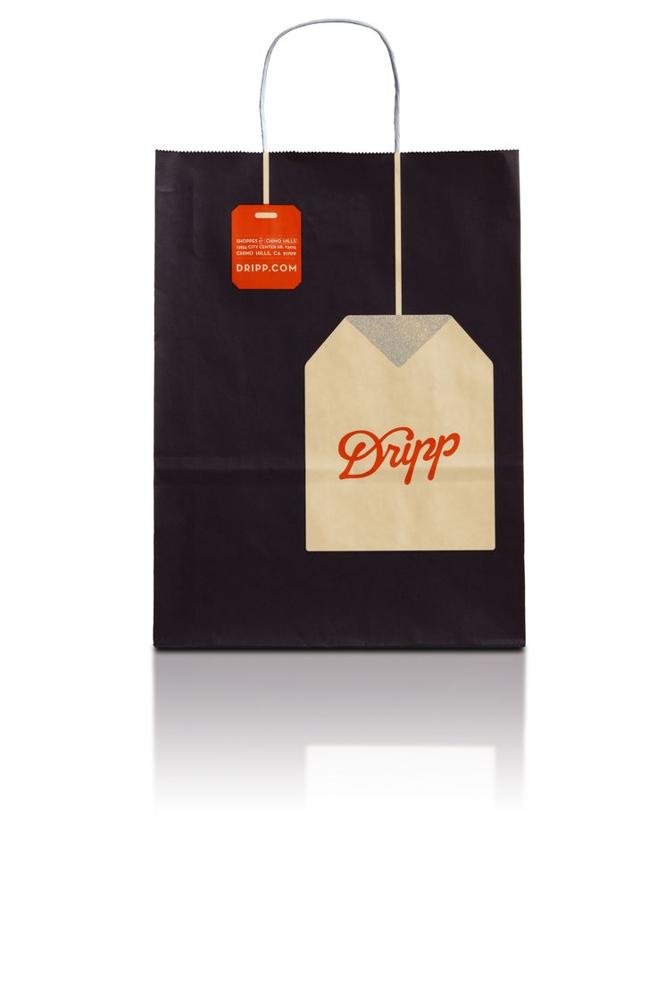 Dripp to-go bags. Design by Turner Duckworth.