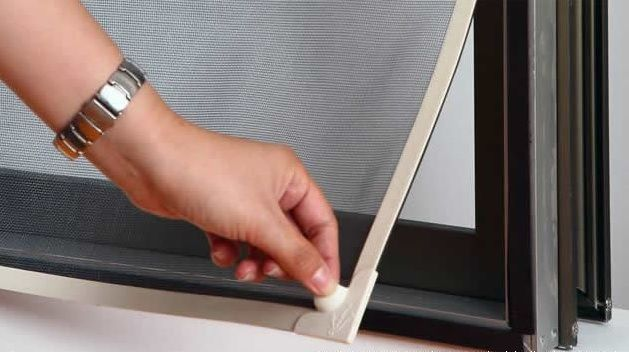Magnetic Mosquito window screens simply stick to your window thanks to the excellent holding capacity of magnets that attract each other and allow flexibility to open and close windows or magnetic screen doors with ease.
