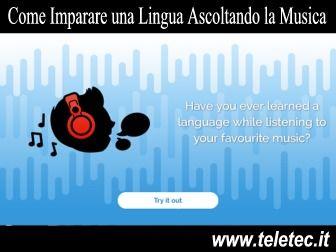 Impara una nuova Lingua Mentre Ascolti la Musica